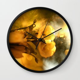 Flower Reflection #decor #society6 #buyart Wall Clock