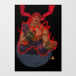 Evil Ryu Canvas Print