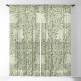 """William Morris """"Pimpernel"""" 1. Sheer Curtain"""