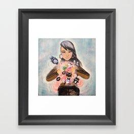 Inner Child Superstar Framed Art Print