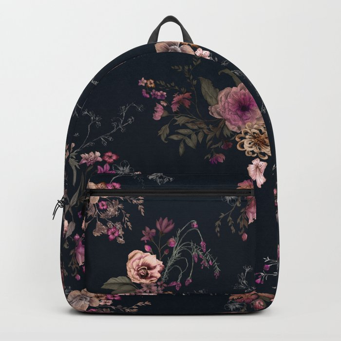 Japanese Boho Floral Backpack By Caseysaccomanno Society6