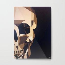 The chocolate skull Metal Print