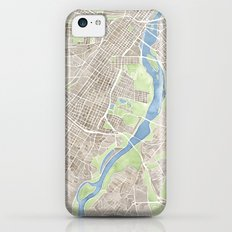 Richmond Virginia City Map iPhone 5c Slim Case