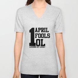 April Fools Unisex V-Neck