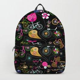 Cycledelic black Backpack