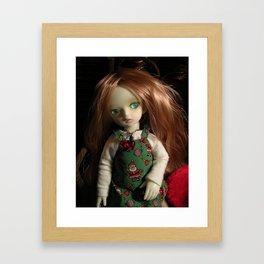 Dressed for Christmas Framed Art Print