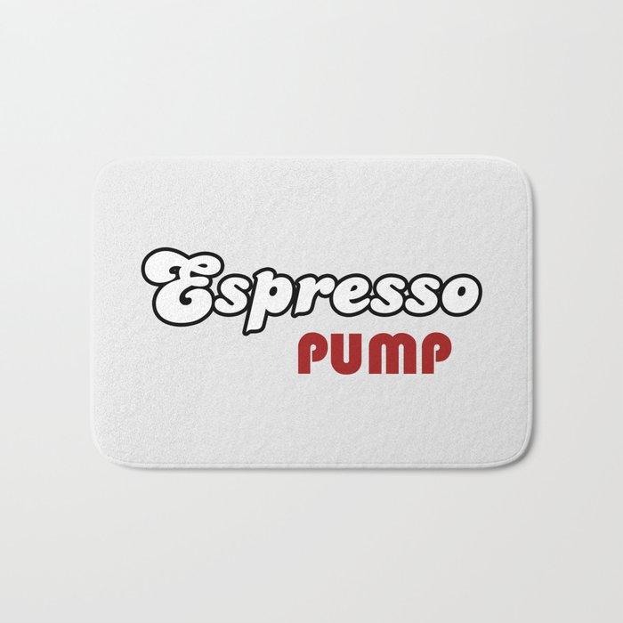 Espresso Pump Bath Mat