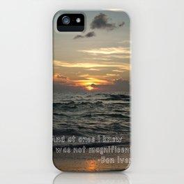 Bon Iver - Holocene iPhone Case