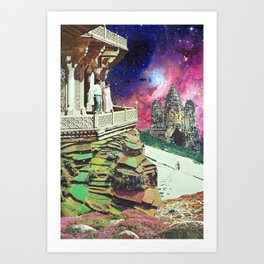 Metaphysical Collapse Art Print