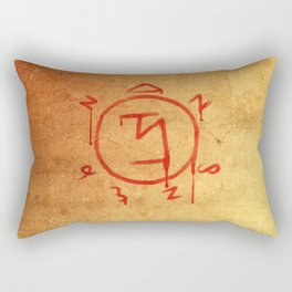 Supernatural Angel Banishing Sigil Rectangular Pillow