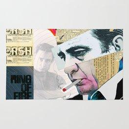 Johnny Cash - The Man In Black Rug