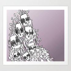 SKULLMERATION Art Print