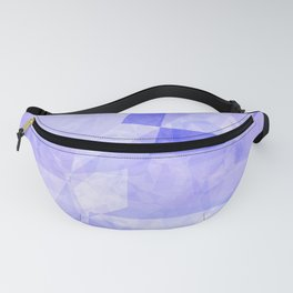 Abstract lavender violet polygonal shapes Fanny Pack