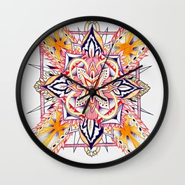Divine Intention 6 Wall Clock