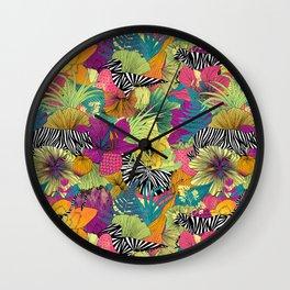 wondergarden Wall Clock
