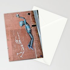 The Floating Man Stationery Cards