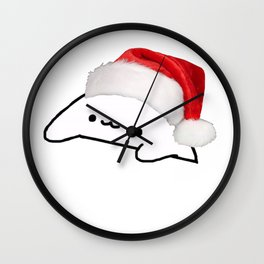 Bongo Cat Christmas Meme Wall Clock