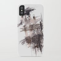 bondage iPhone & iPod Cases featuring Bondage- 151124  Abstract Watercolour  by ©valourine