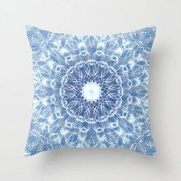 Lace Snowflakes Throw Pillow