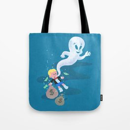 Where do friendly ghosts come from? Tote Bag
