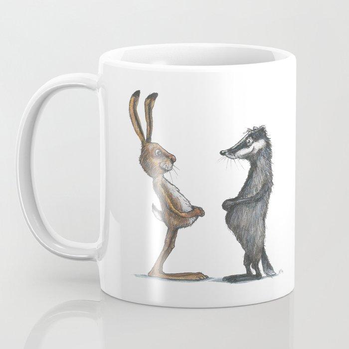 Hare & Badger Coffee Mug