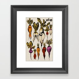 Don't forget your roots Framed Art Print