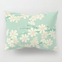 Turquoise Bloom Pillow Sham