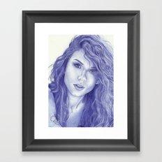 Alisa Framed Art Print