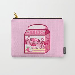 Strawberry Milk Carry-All Pouch