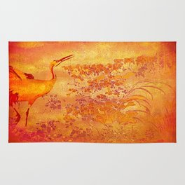The storks of the forgotten paradise Rug