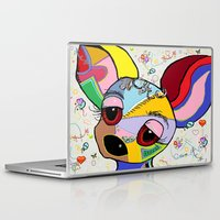 chihuahua Laptop & iPad Skins featuring Chihuahua by EloiseArt