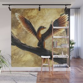 Archaeopteryx Lithographica Commission Wall Mural