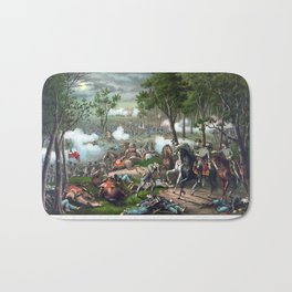 The Battle of Chancellorsville Bath Mat