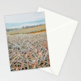 Maui Gold Pineapple Fields, Maui, Hawaii #5 Stationery Cards