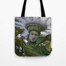 flower man Tote Bag