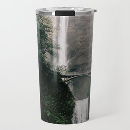Multnomah Falls Waterfall in October - Landscape Photography Travel Mug