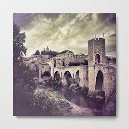 Medieval Fortress Metal Print