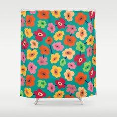 BP 13 Flowers Shower Curtain
