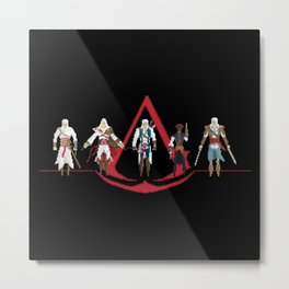 The Creed Metal Print