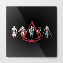 The Creed Metal Print