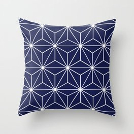 Geometric Stars Throw Pillow