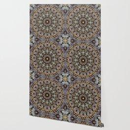 Mushroom mandala 5 Wallpaper