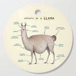 Anatomy of a Llama Cutting Board