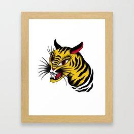 Tiger! Tiger! Framed Art Print