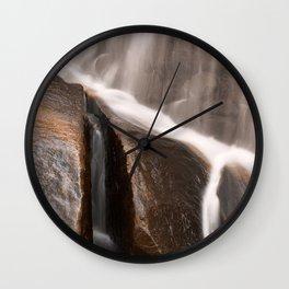Sliver Falls Wall Clock
