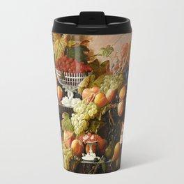 Abundance of Fruits Travel Mug