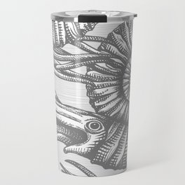 AMMONITE COLLECTION GRAY Travel Mug
