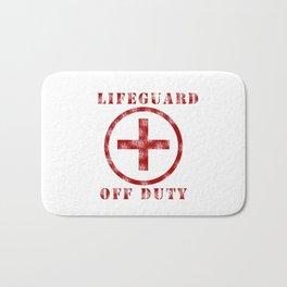 Lifeguard Off Duty Bath Mat