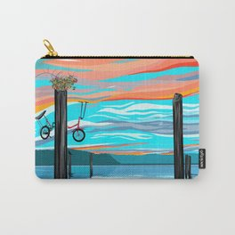 Rose Pedal Carry-All Pouch