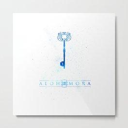 Alohomora Metal Print